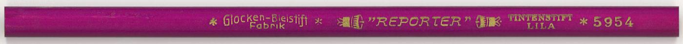 Reporter Tintenstift Lila 5954