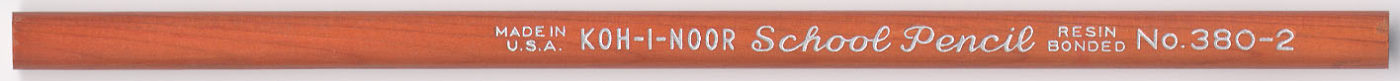School Pencil No. 380-2