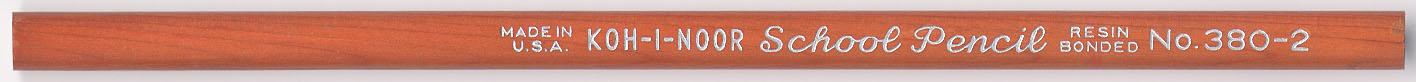 School Pencil No. 380-2