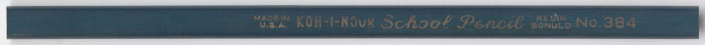 School Pencil No. 384