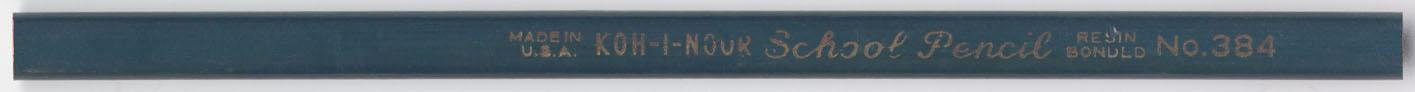 School Pencil No. 384