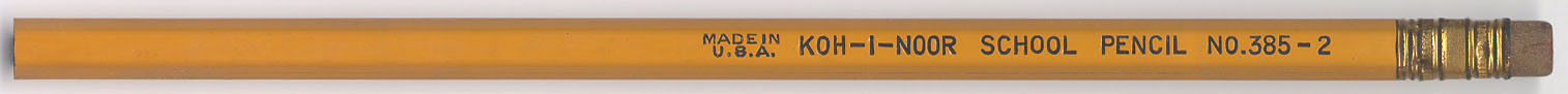 School Pencil No. 385-2