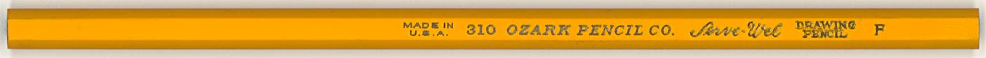 Serve-Wel Drawing Pencil 310 F