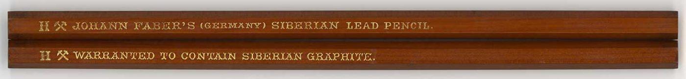 Siberian Lead Pencil H