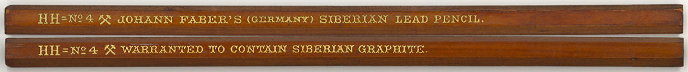Siberian Lead Pencil HH=No.4