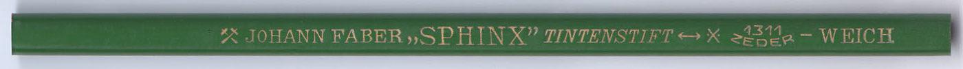 """""""Sphinx"""" Tintenstift 1311 Weich"""