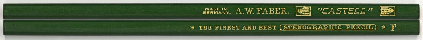 """Castell"" Stenographic Pencils F"