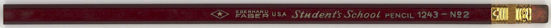 Student's School Pencil 1243