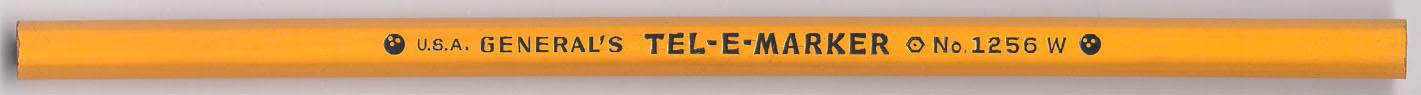 Tel-E-Marker 1256 W