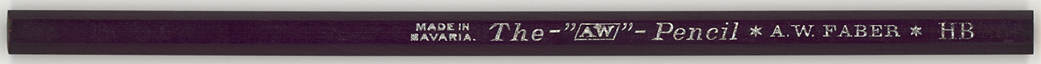"""The - """"AW"""" - Pencil HB"""