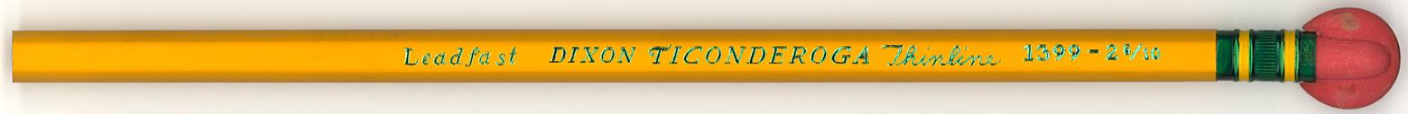 Ticonderoga 1399-2 5/10
