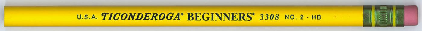 Ticonderoga Beginners 3308
