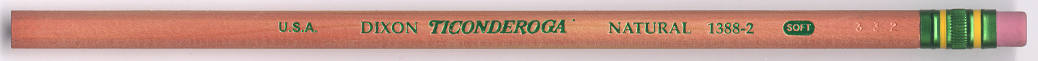 Ticonderoga Natural 1388
