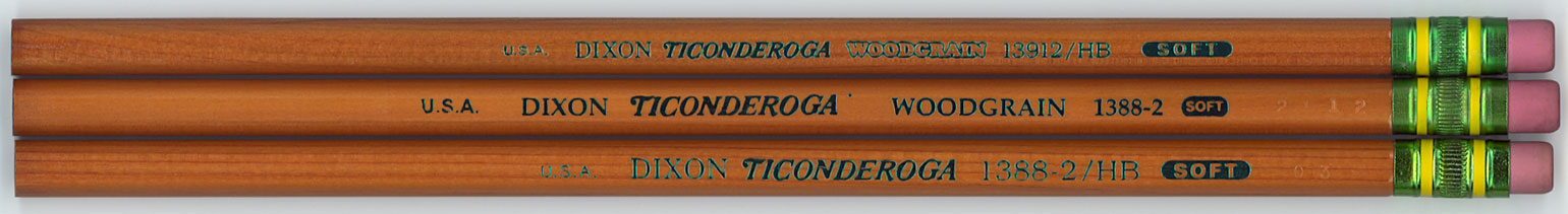 Ticonderoga Woodgrain 1388/13912