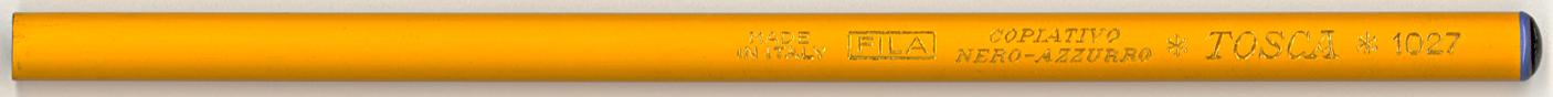 Tosca Copiativo Nero-Azzurro 1027