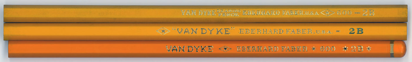 Van Dyke Drawing Pencil 600 2B
