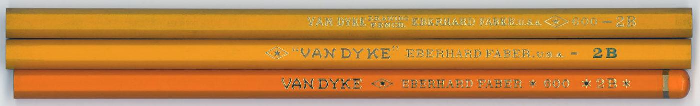 Van Dyke Drawing Pencil 600 2B
