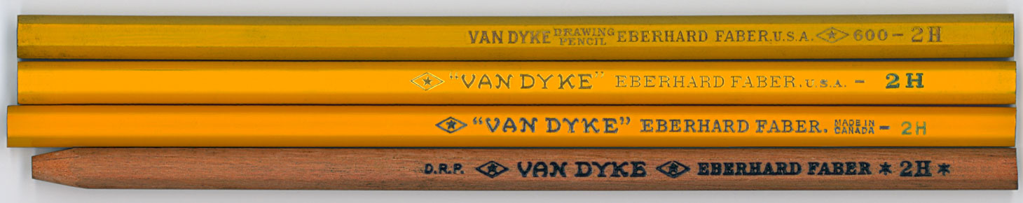 Van Dyke Drawing Pencil 600 2H