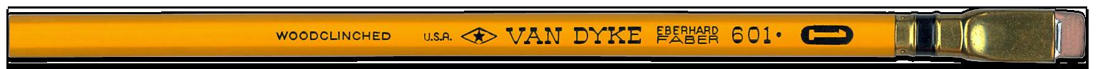Van Dyke pencil by Eberhard Faber