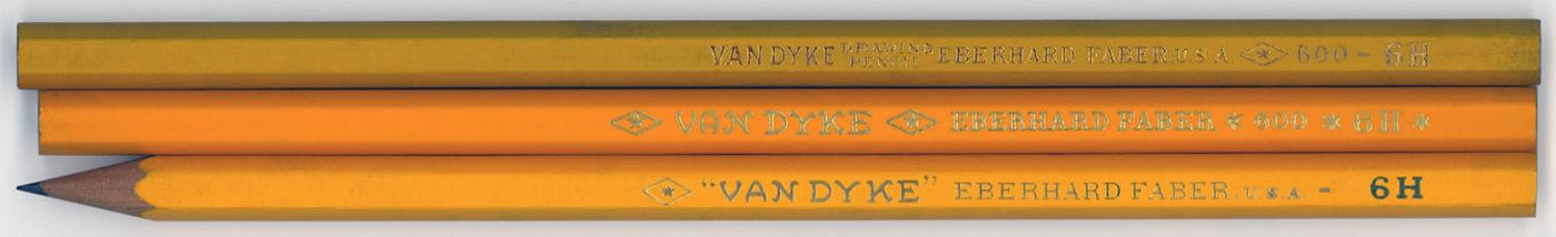 Van Dyke Drawing Pencil 600 6H