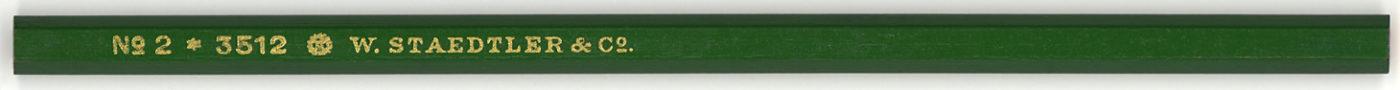 W. Staedtler & Co. 3512 No. 2