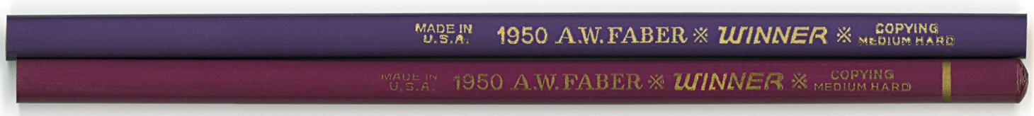 Winner Copying 1950 Med. Hard