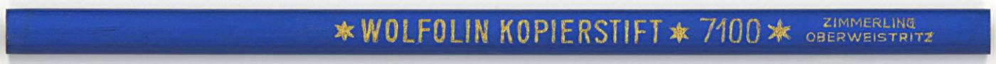 Wolfolin Kopierstift 7100