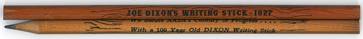 Joe Dixon's Writing Stick 1827
