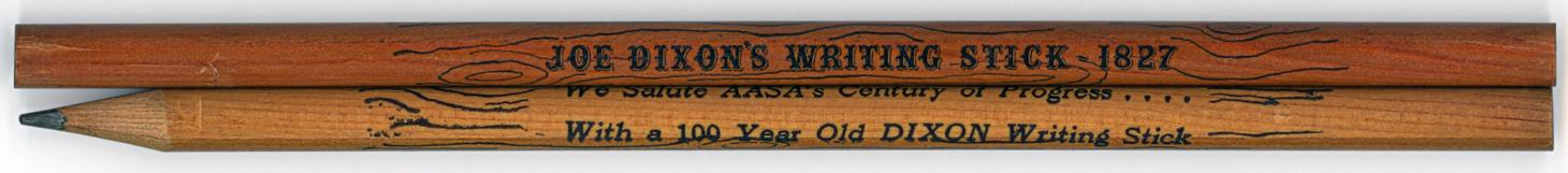 Joe Dixon's Writing Stick 1827