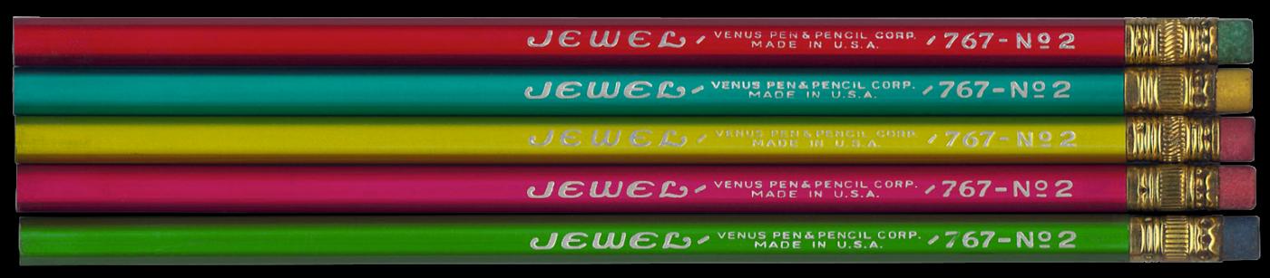 Jewel 767 vintage set of pencils