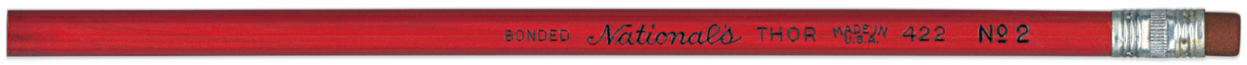 Thor 422 Red vintage pencil