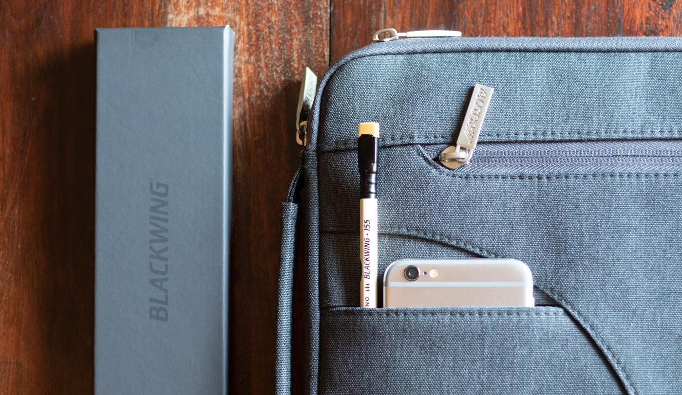 Palomino Blackwing 155 in laptop case