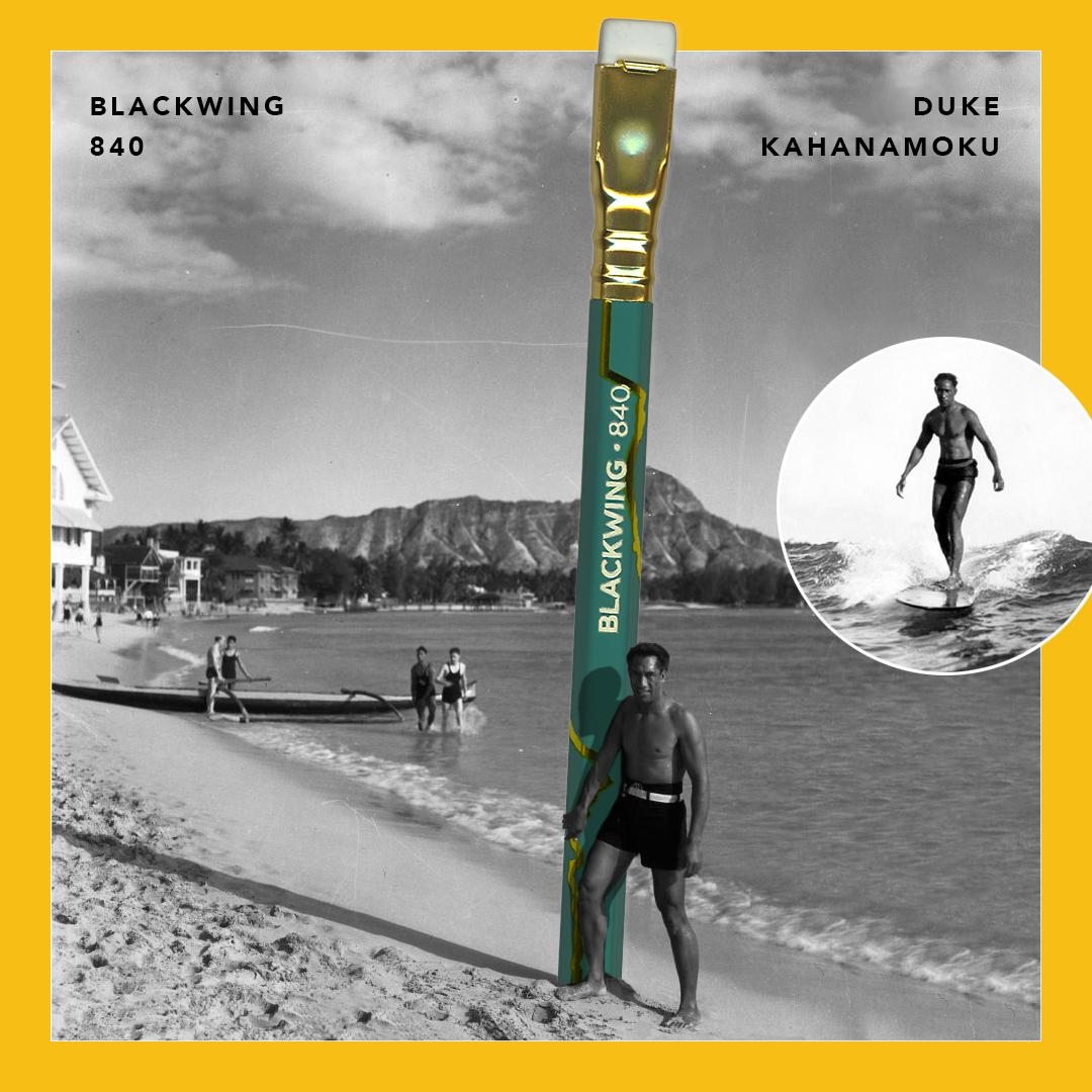 Blackwing 840 Pencil Duke Kahanamoku
