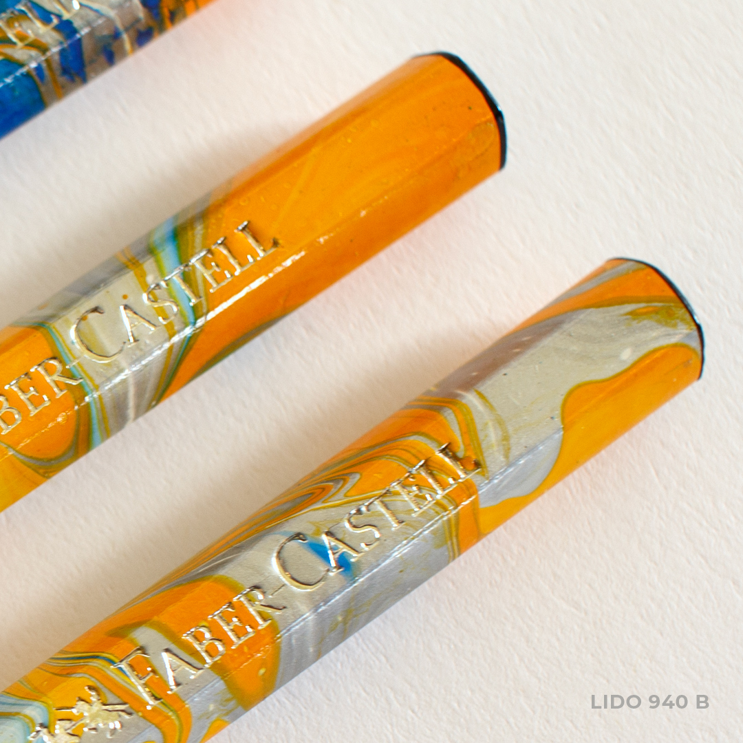 Orange Lido Pencils by Faber Castell