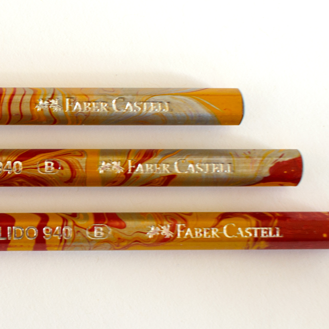 Red Lido Pencils by Faber Castell