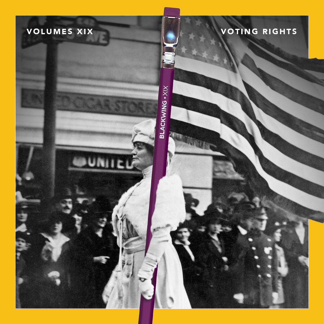 Blackwing XIX Pencil Voting Rights