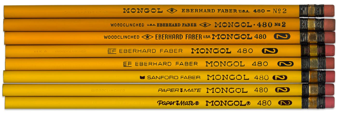 Mongol 480 pencil history