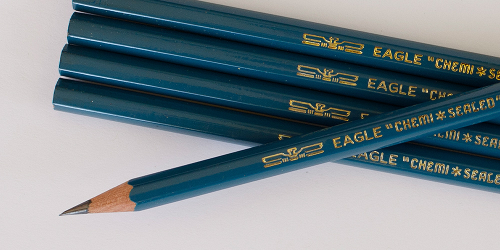 Eagle Turquoise Drawing Pencils