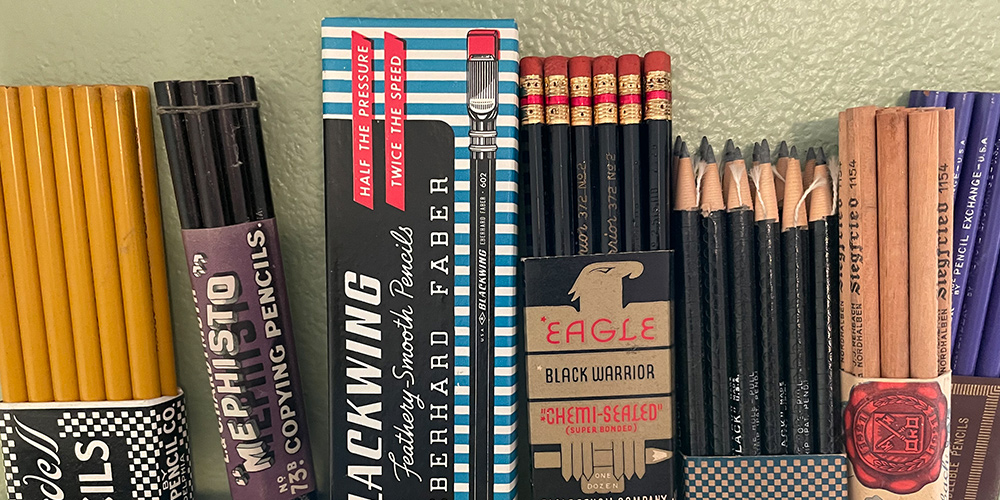 New Pencil Arrivals