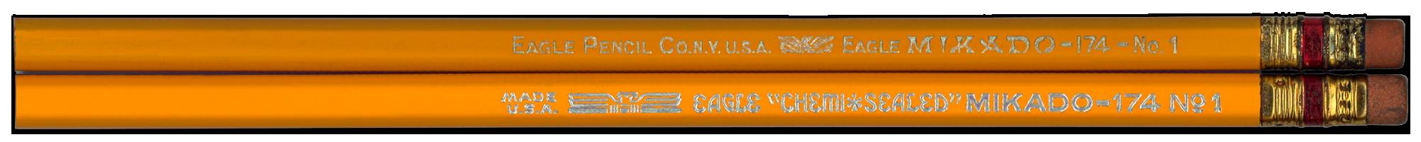 Mikado pencils by Eagle