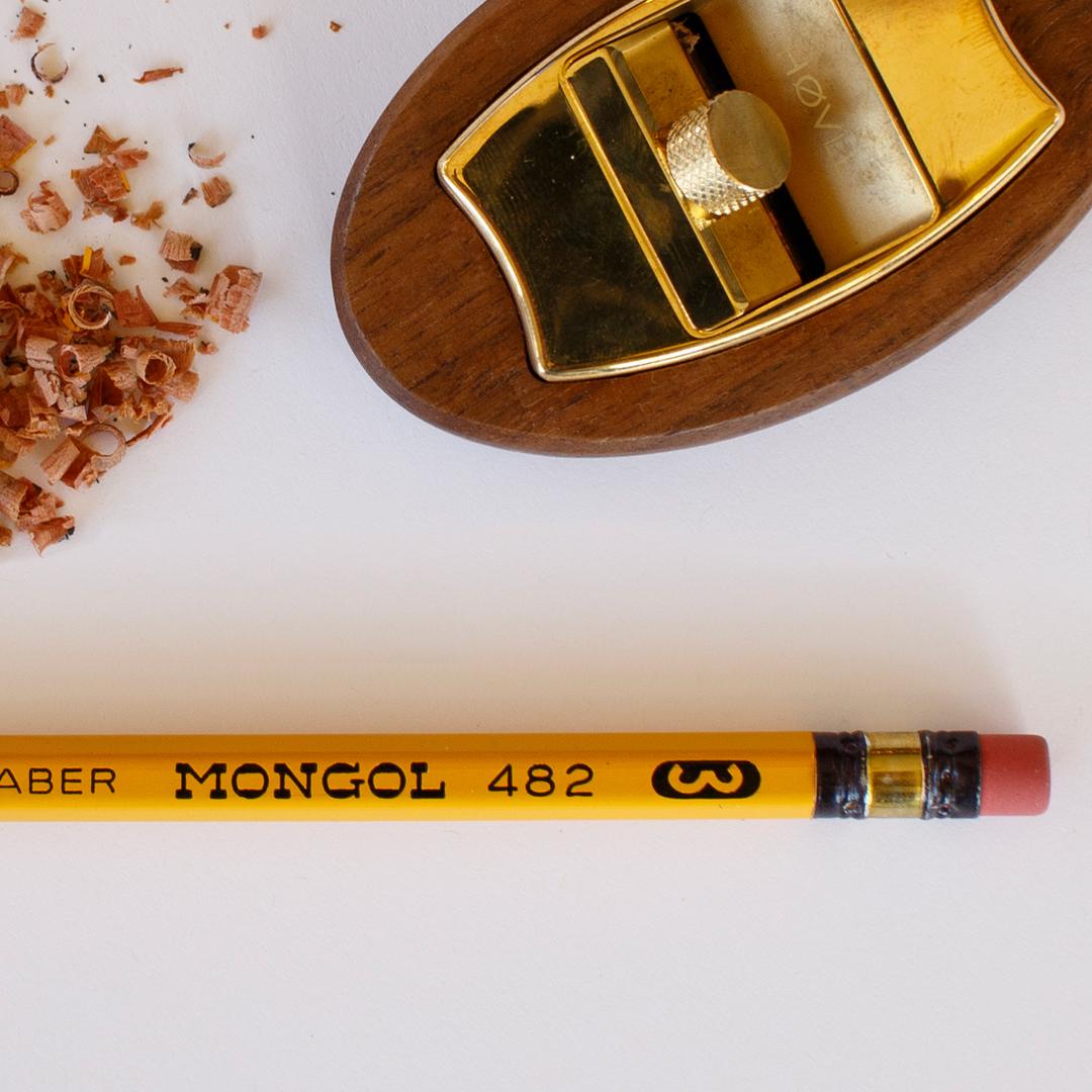 Mongol 482 Pencil by Eberhard Faber with Høvel Pencil Plane