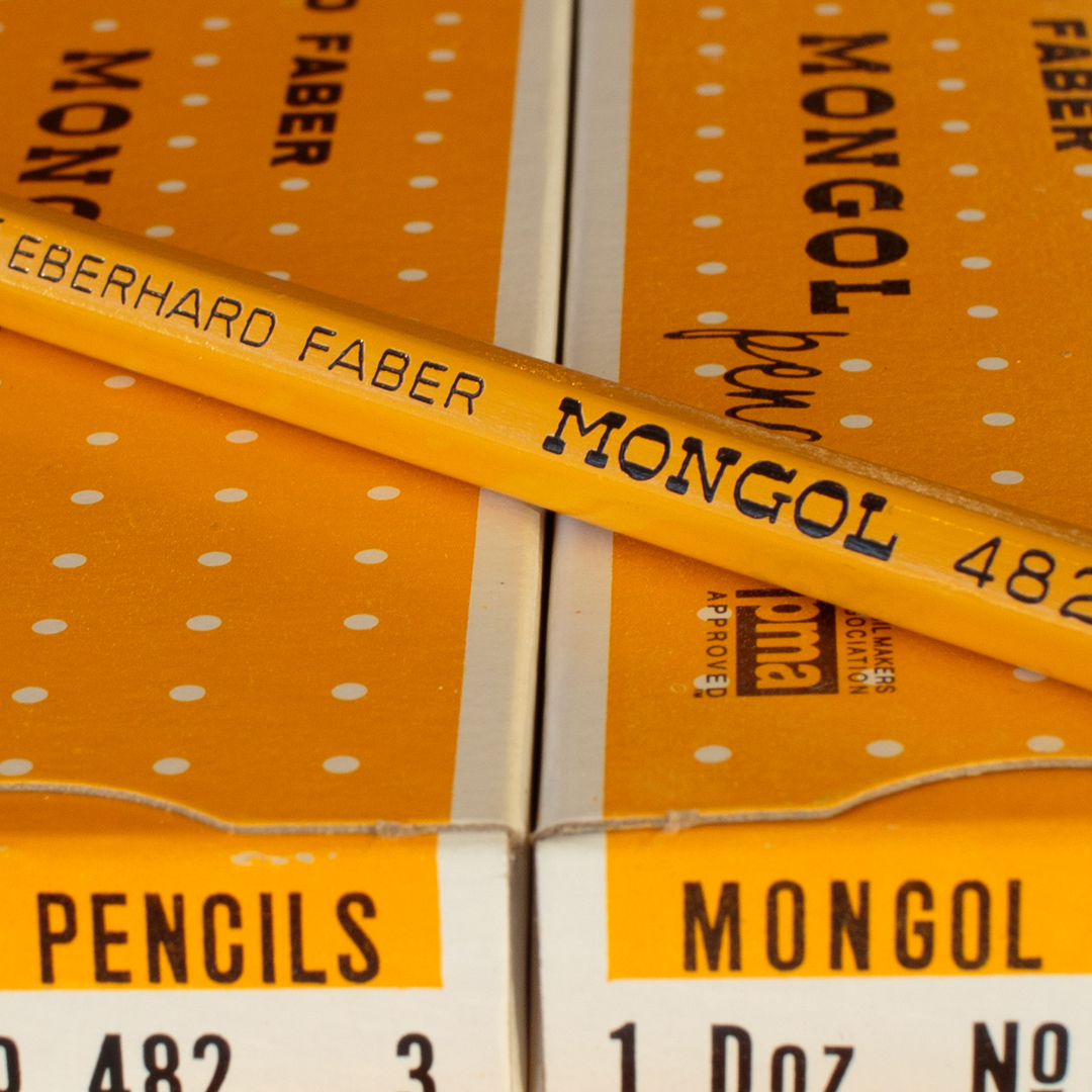 Mongol 482 Pencil by Eberhard Faber with Boxes