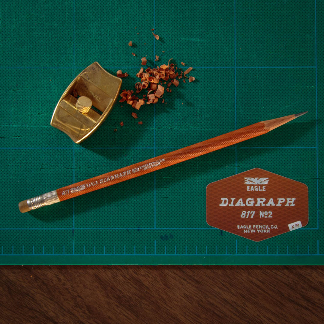 Eagle Diagraph antique pencil with Hovel sharpener