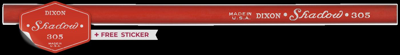 Dixon Shadow 305 pencil