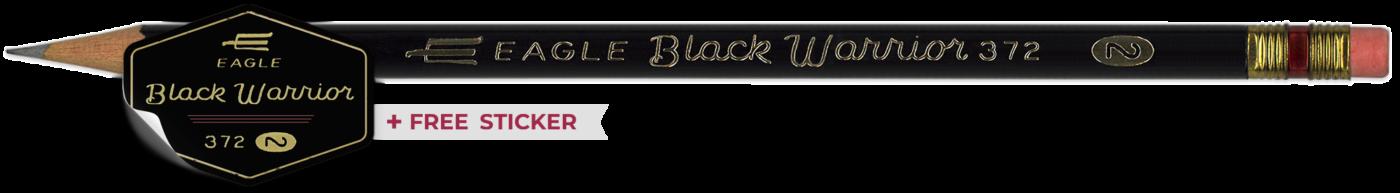 Eagle Black Warrior pencil